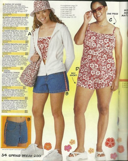 Girlfriends LA Catalog  Bathing Suit