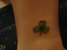 Three Leaf Clover Tattoo