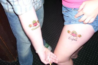 Irish Twin Tattoos
