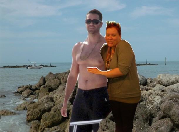 Shirtless Jesse Metcalfe Photoshopped