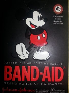 Mickey Mouse Band Aids
