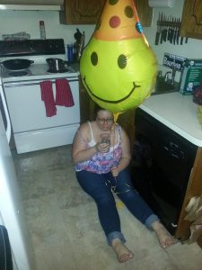 Smiley Face Balloon