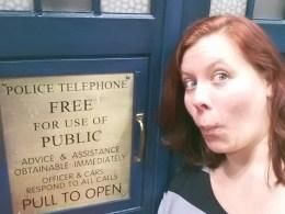 Escape into the TARDIS