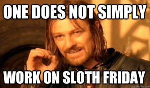 Sloth Friday
