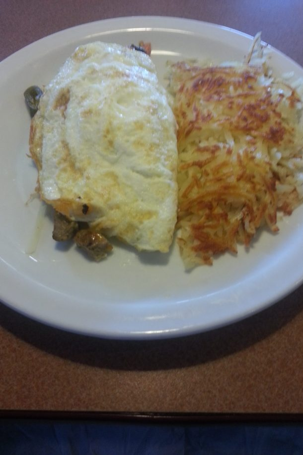Denny's BYO Omelette