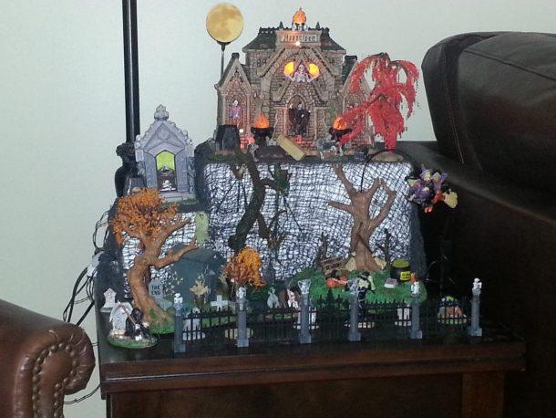 spooky town village