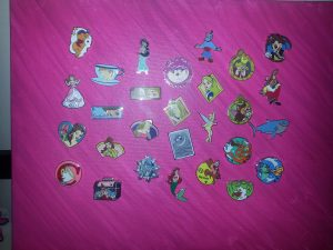 Disney Princess Pin Display