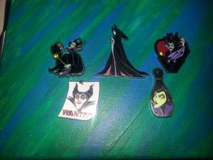 Disney Maleficent Pin Display