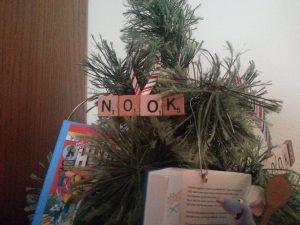 Nook Scrabble Ornament