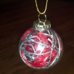 DIY Fill Your Own Glass Ball Christmas Ornaments
