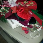 Boxes and ribbons and stockings oh my!