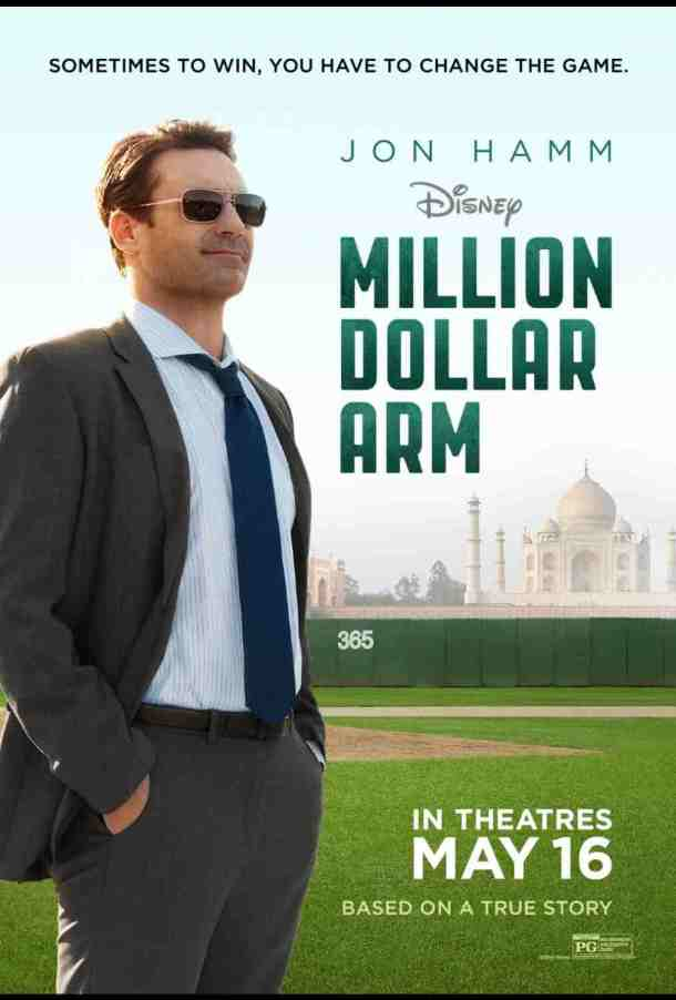 Jon Hamm in Million Dollar Arm