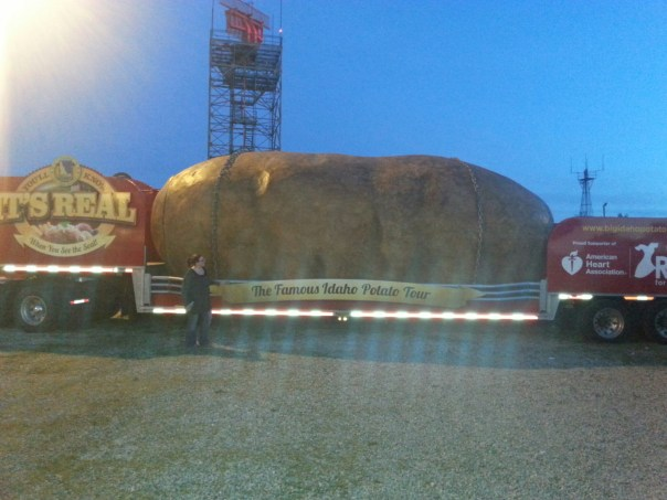 Giant Idaho Potato
