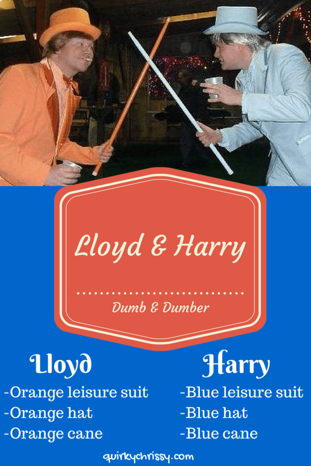 Lloyd & Harry Dumb and Dumber Costumes
