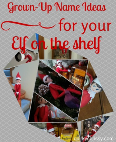 Grown-Up Names for Elf on the Shelf