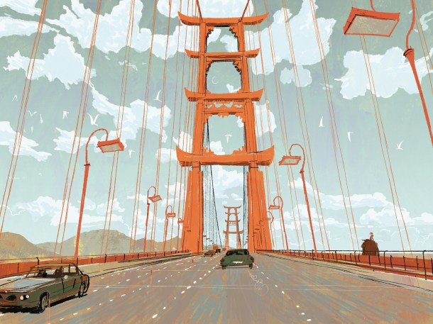 San Fransokyo concept art