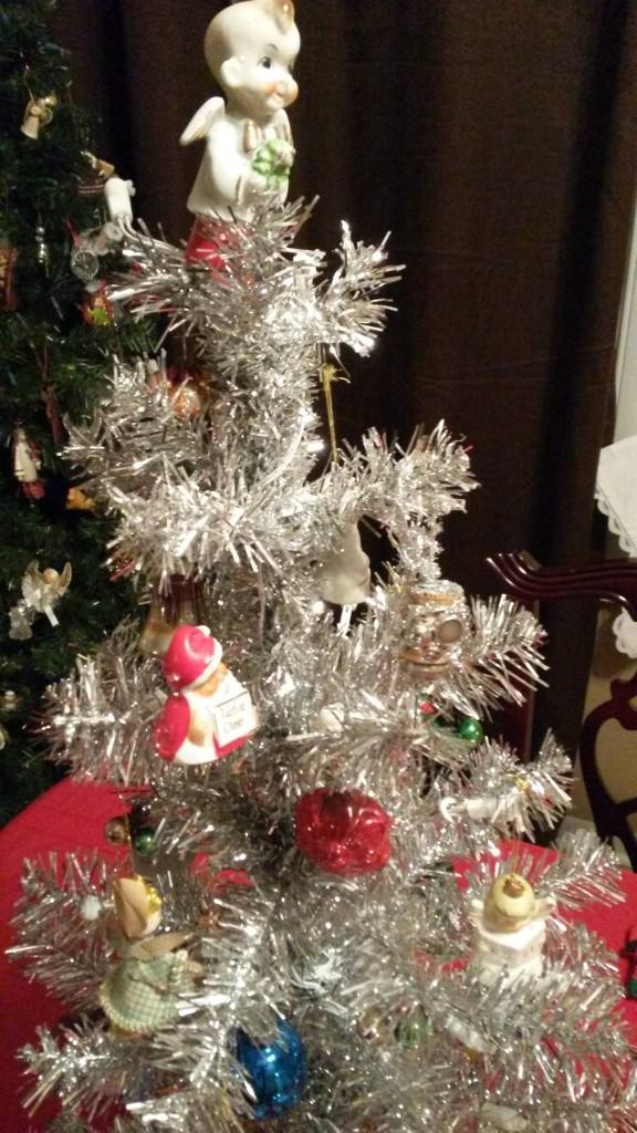 Martha Stewart Tree with Vintage Bone China Ornaments