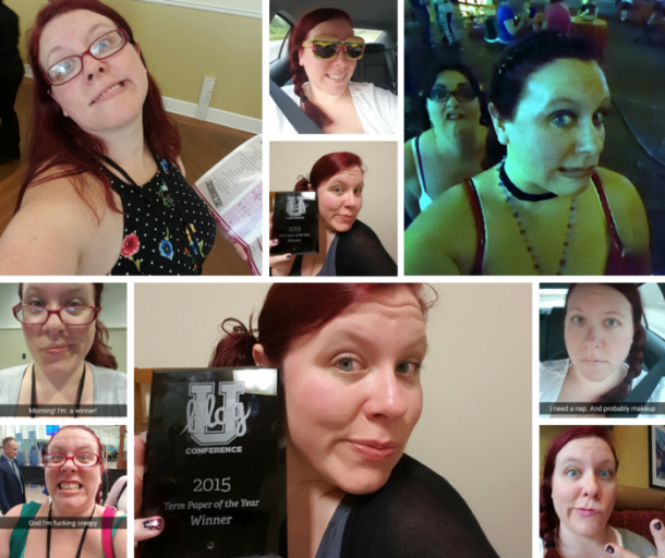 The Many Faces of Selfie Queen Quirky Chrissy