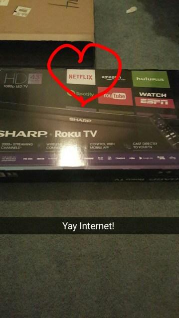 my parents got a new TV, so I thought I'd teach them about Netflix