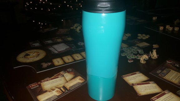 The Mighty Mug is a serious lifesaver when you spill a lot like I do.