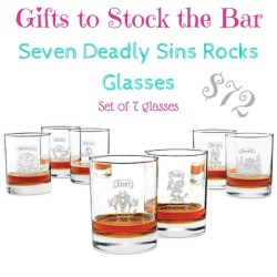 seven deadly sins glasses $72