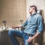 Damsel in distress…in the bathroom