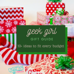 Geek girl gift guide