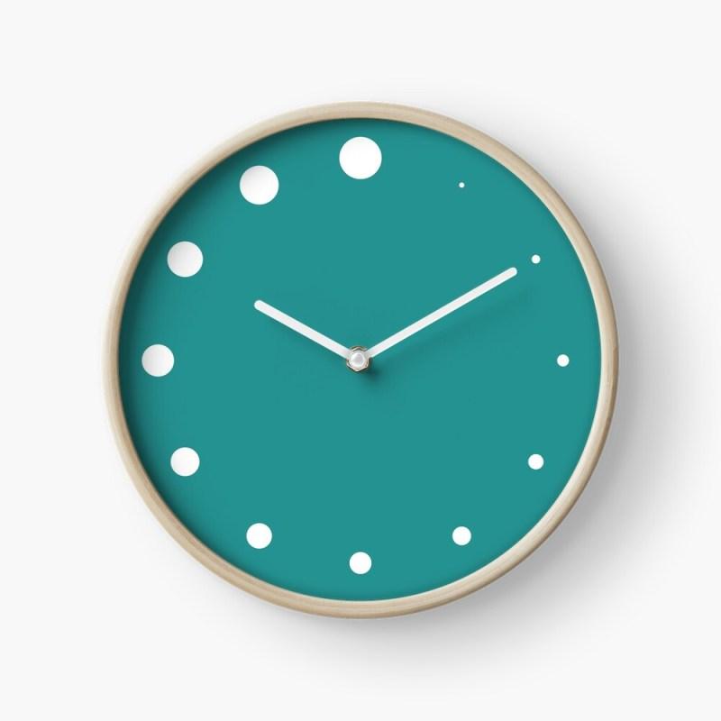 growing dots clock