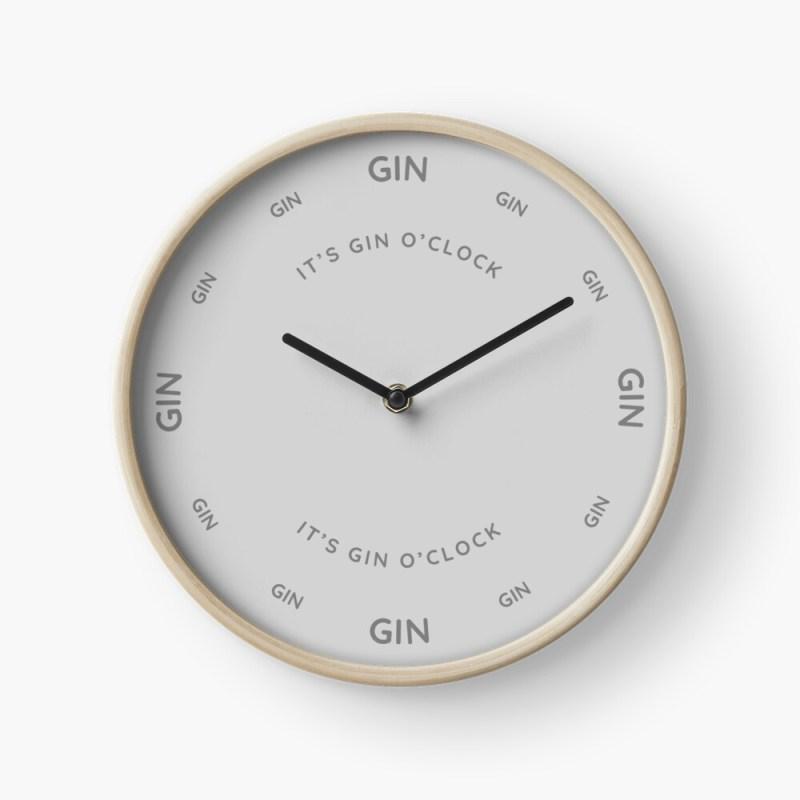 gin clock