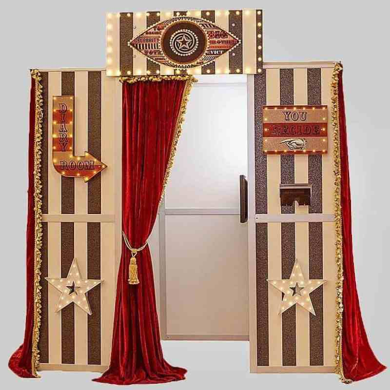 big brother diary room photo booth hire