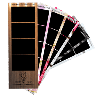 wedding photo booth hire strips