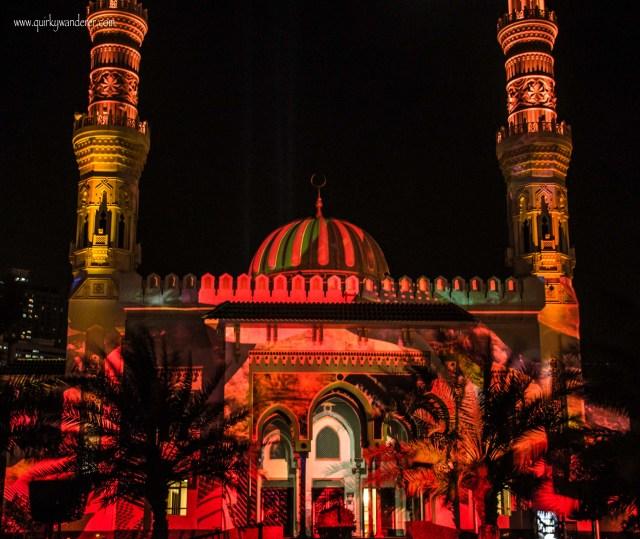 Al taqwa mosque sharjah 1