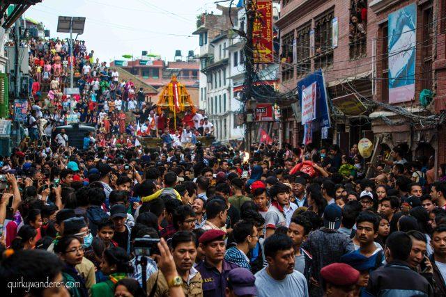 Indra jatra Kathmandu Nepal