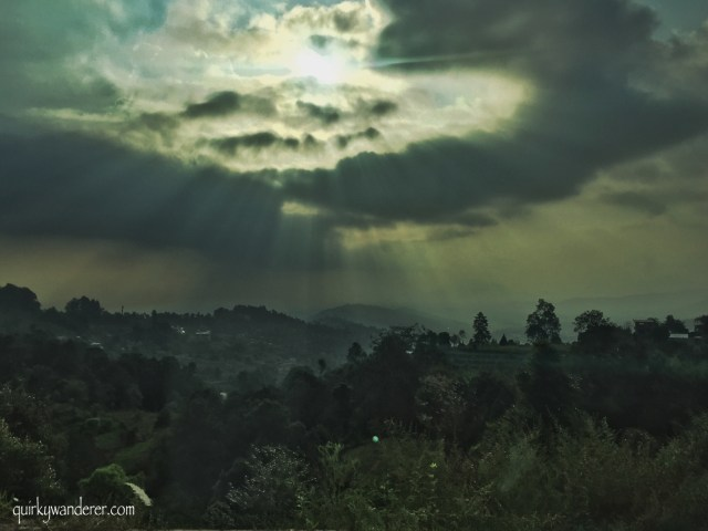 Nepal nagarkot Sunset