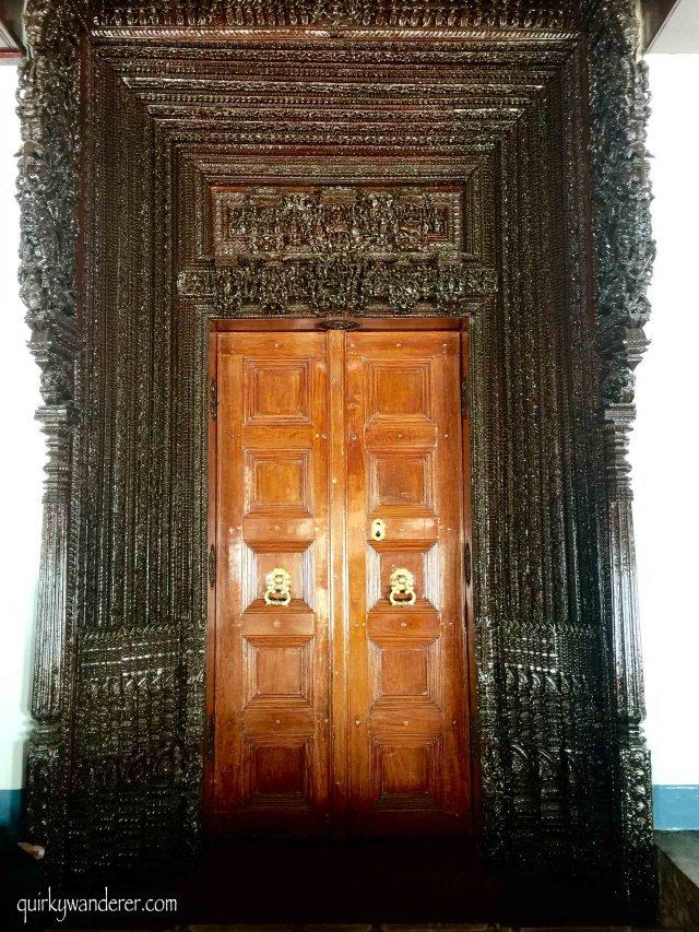 Doors of Chettinad