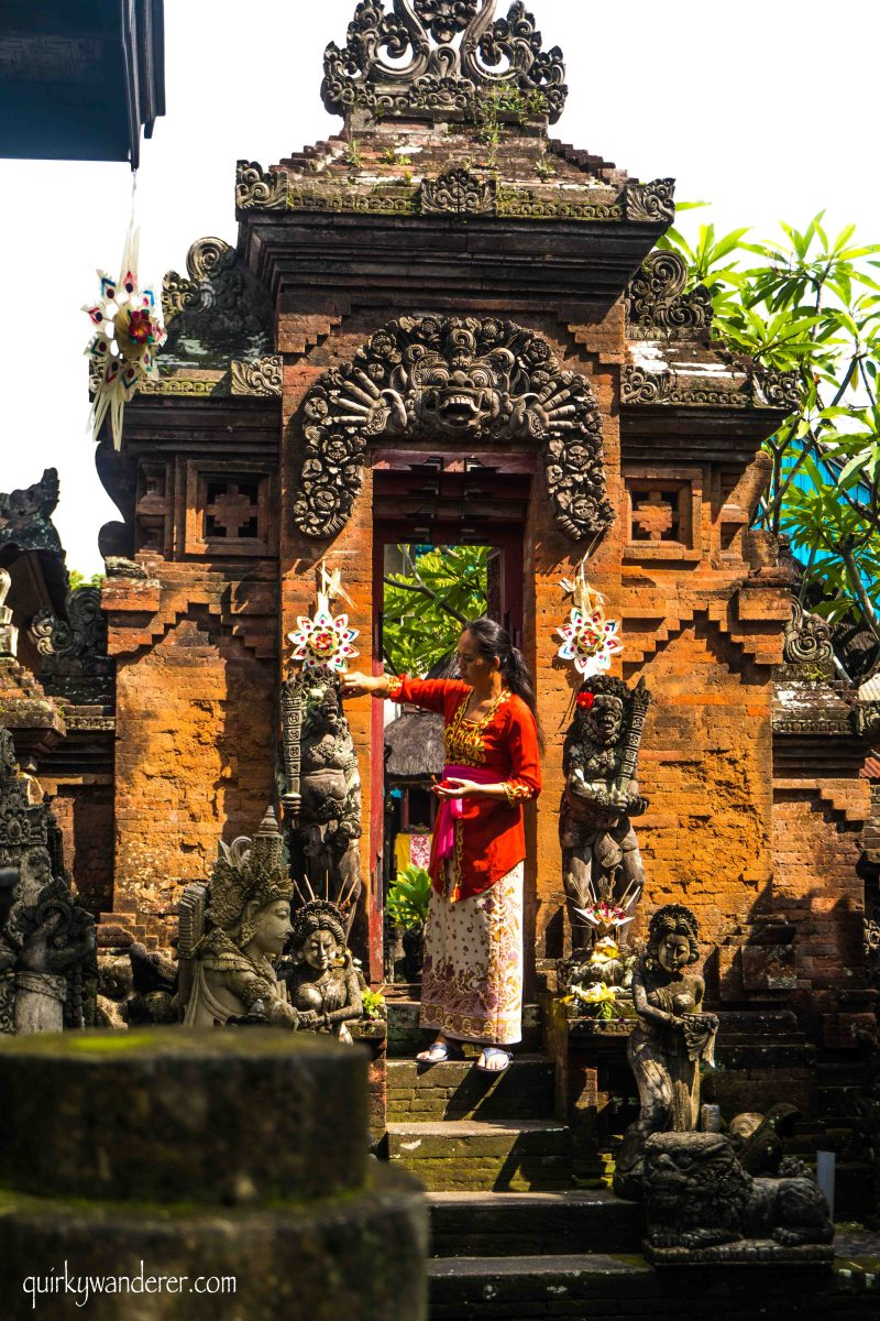 Bali Beyond Beaches: Of Hinduism and Arty Villages Of Batu Bulan