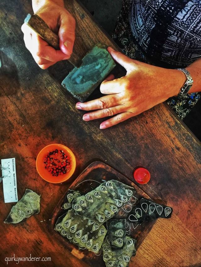 silver jewellery in Bali