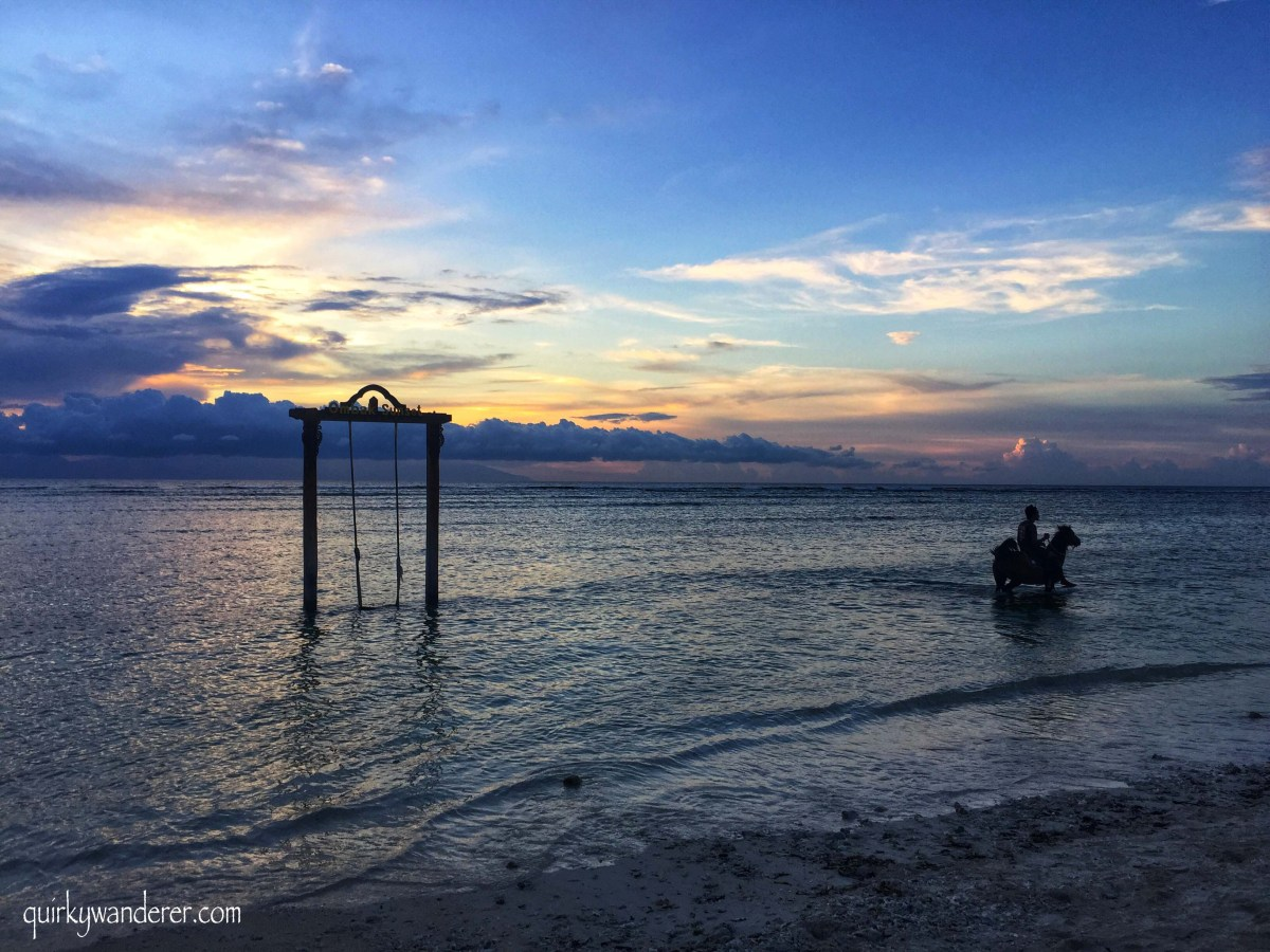 The Magical Sunsets of Gili Trawangan Island