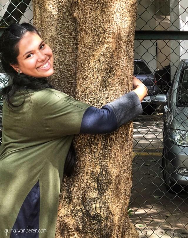 Tree walk in Mumbai organised by Friends of trees Mumbai