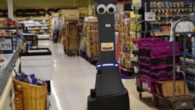 Photo of Robot Marty hace su debut como 'empleado' de supermercados Giant (Video)
