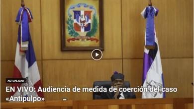 Photo of EN VIVO: audiencia del caso contra implicados en la 'Operación Antipulpo'