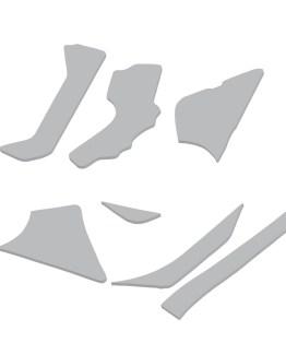 GSXR750 slabby yoshimura frame bracing