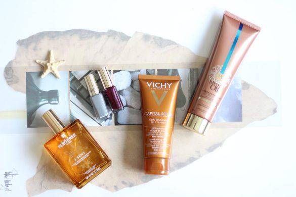 summer cosmetics loreal summertime vichy rene furturer 5 sens oil почивка