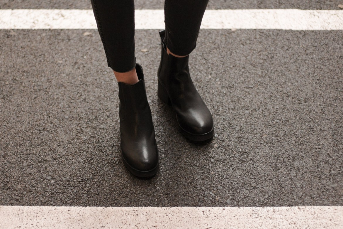 autumn essentials, leather ankle boots Zign by Bulgarian fashion blogger Michaella from Quite a Looker
