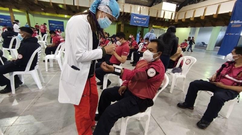 Vacunación médicos y CBQ