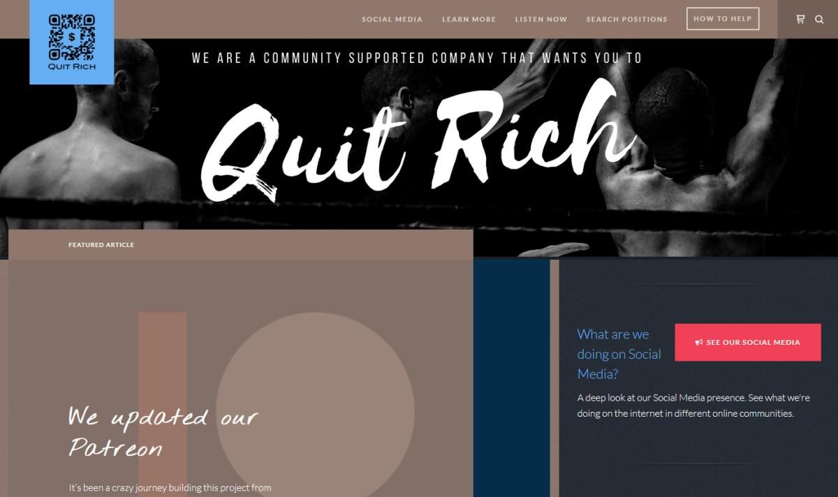 Quit Rich version 1.0 Beta