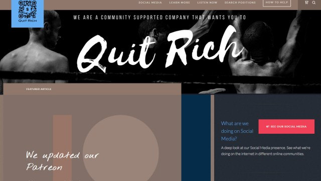 Quit Rich version 1.0 Beta