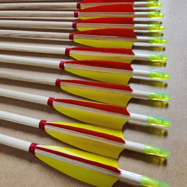 Traditional target arrow
