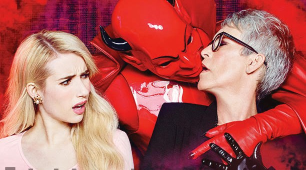 Shot at Quixote: Scream Queens by Ruven Afanador for Entertainment Weekly