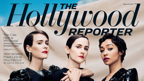 Shot at Quixote: Sarah Paulson, Ruth Negga, and Karla Welch by Ramona Rosales for The Hollywood Reporter